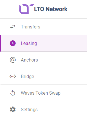 Leasing LTO Coins to node